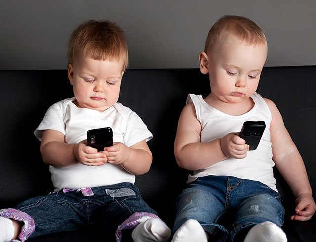 Filhos e os eletrônicos